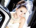 绝色新娘唯美豪车花嫁
