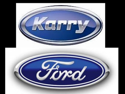RRY开瑞品牌车标 图下为福特车车标-奇瑞新LOGO被指山寨 公司回高清图片