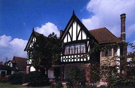 欧美农村房子图片
