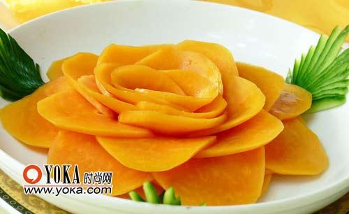 水果拼盘图片木瓜