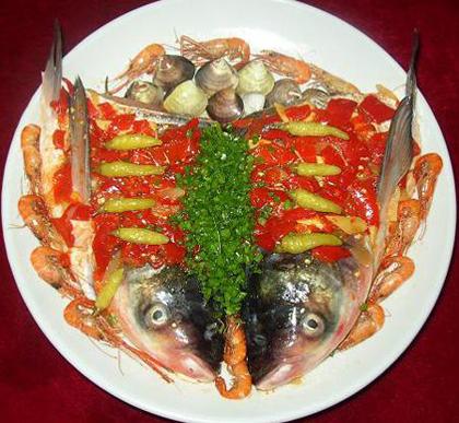 鱼头内部结构图