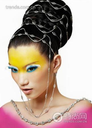 珠宝邂逅美妆 10款顶级奢华妆面