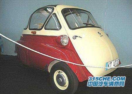 世界上十大最可爱迷你汽车