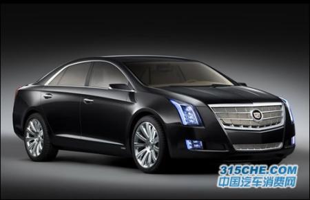 凯迪拉克xts白金版概念车高清图片