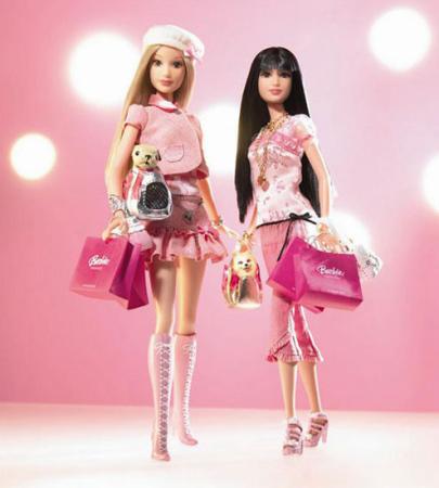 专为上海设计的芭比娃娃,芭比娃娃有了个上海面孔