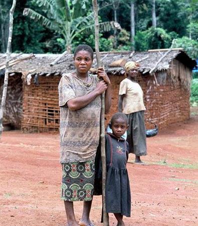 非洲矮人部落