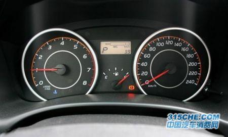 丰田400车仪表盘指示灯图解