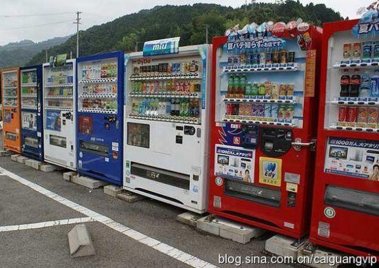 日本自动售货机卖活龙虾