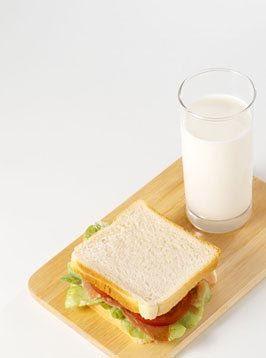 两片面包简笔画图片