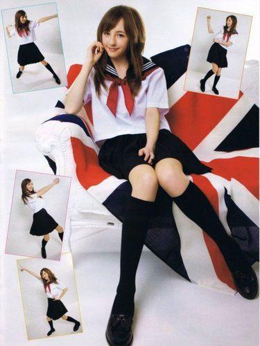 英国美少女风靡全日本