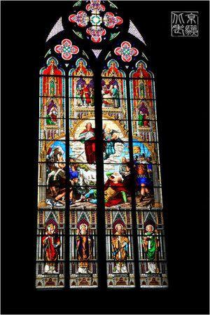 教堂窗花纹身手稿