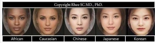 日本人女性最具魅力的脸型;