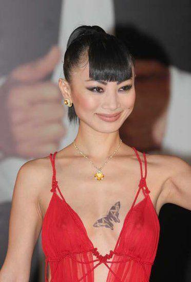 如华裔电影明星刘燕玲和白灵