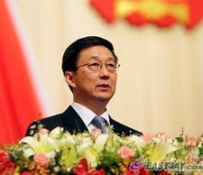 上海市市长韩正作政府工作报告