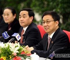 市长韩正参加代表团全团审议