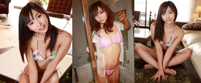 日本内衣模特萌系性感写真