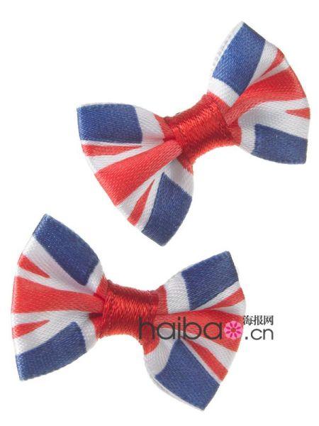 英国国旗图案领结