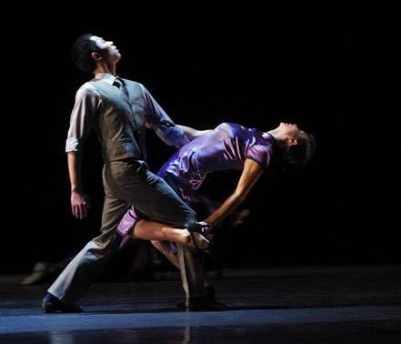 现代舞蹈结尾造型