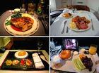 世界各航空公司头等舱的美食