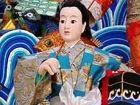 日本传统夏日祭光屁股节