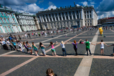 @七队巴顿:圣彼得堡跳舞的年轻人