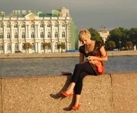 @独臂老宋:圣彼得堡的各种美女