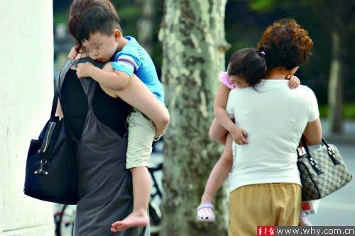 暑假期间儿童走失事件高发 本报资料图 记者 杨磊 摄