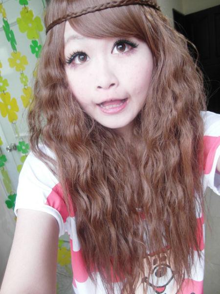 盘点日系唯美长辫子的发型