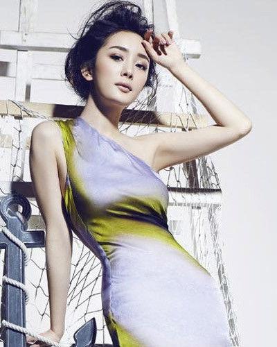 杨幂时尚大片 大塑10种发型造型