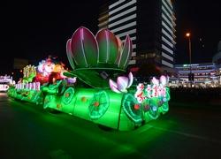 上海旅游节花车巡游