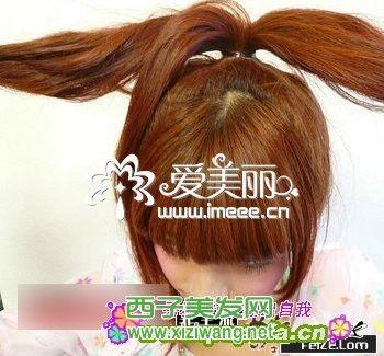 长发发型扎法及步骤 可爱发型扎法讲解