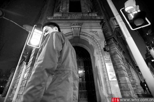 位于广东路上的上海兰会所已经停业,大门紧闭。本报记者 丁嘉 摄