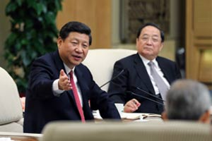 习近平参加上海代表团讨论
