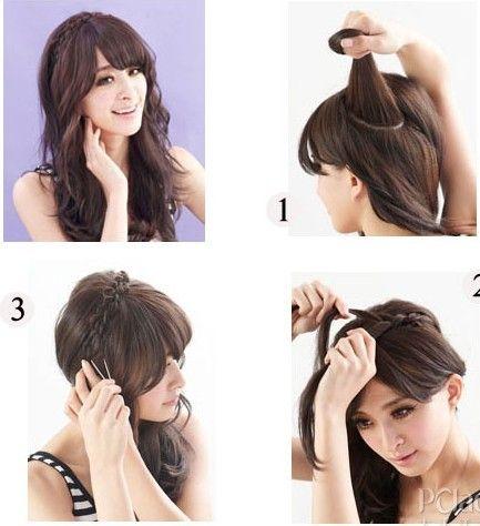 长辫子的发型 各种魅力十足的辫子设计
