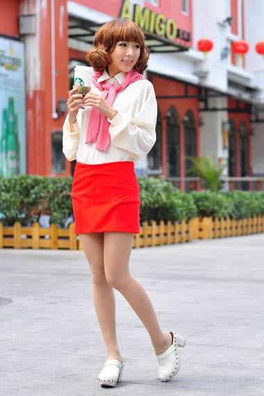 矮个女生穿衣打扮 可爱粉嫩花样多