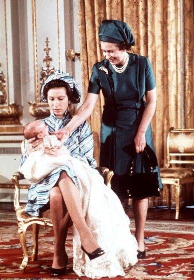 英国王室成员童年萌照 戴安娜王妃