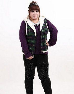矮个胖女生的穿衣打扮技巧和搭配禁区
