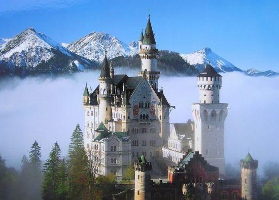 欧洲经典旅游线路 德法意瑞各国代表景点