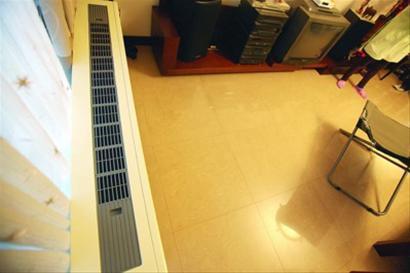 安亭新镇业主每个房间都安装了暖气装置