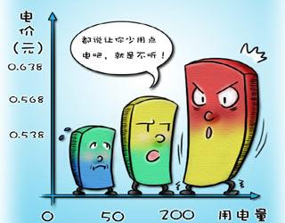 上海阶梯电价方案