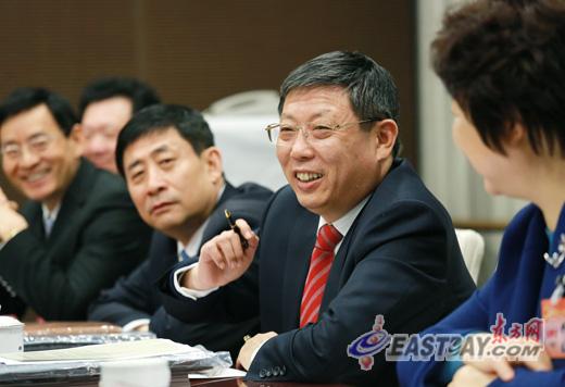 杨雄参加徐汇团分组审议