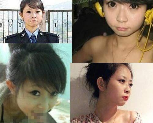 网曝90后兰州警花王梦溪不雅照系前男友报复 回应:不是警察-90后警