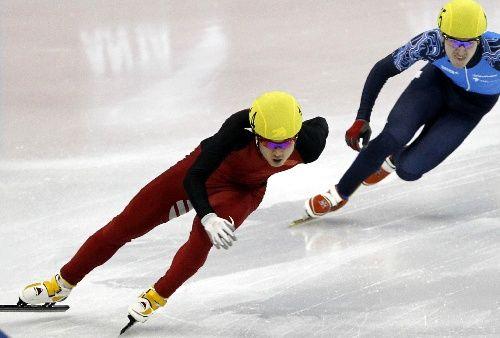 短道速滑世界杯上海站开赛