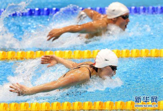 焦刘洋破奥运纪录赢中国游泳第四金