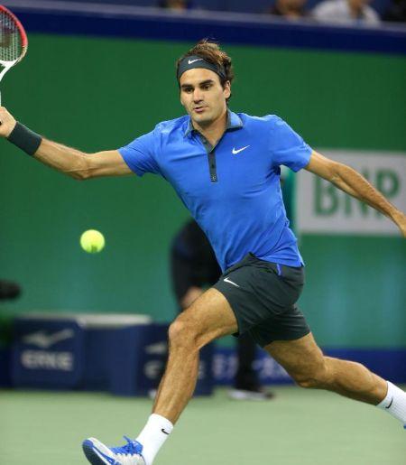 上海网球大师赛:费德勒对阵卢彦勋