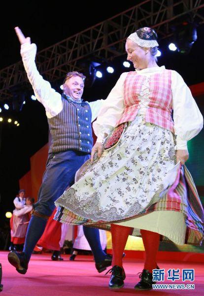 第二届国际民间民俗舞蹈大会在沪开幕