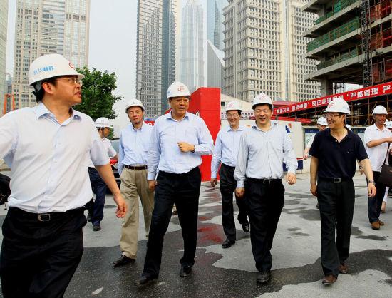 中国金融信息大厦七月底结构封顶