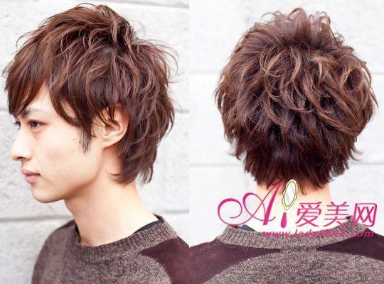 如果你的后脑勺比较扁平可以通过发型来弥补缺陷图片