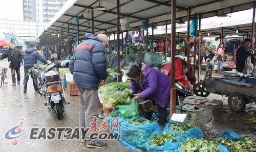 曹安市场3月1日正式关闭商户前往江桥等市场