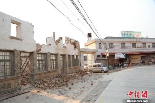 大理地震 13万人受灾图片